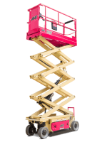 Narrow Scissor Lift Hire Melbourne | Rent Narrow Scissor Lift